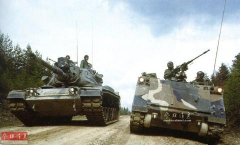 雪曼m1不是传说! 美军下代坦克可用激光拦炮弹