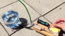 一个小针筒也能做出电动充气泵?这玩意简直太实用了!
