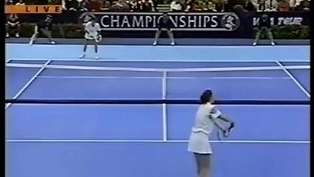 【自制HL】1994年WTA年终总决赛决赛 萨巴蒂尼VS达文波特