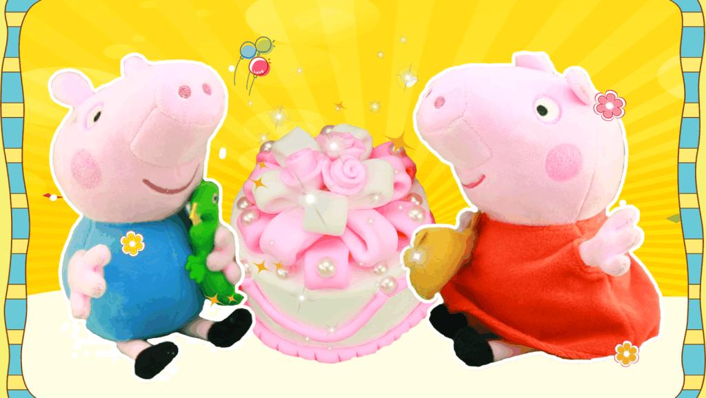 玫瑰花蛋糕DIY食玩玩具,轻粘土玫瑰花小蛋糕