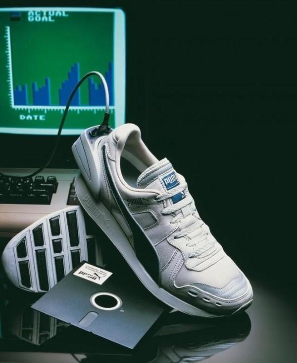 彪马复刻1986年智能跑鞋 就是丑了点
