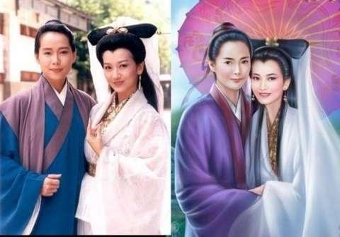 超漂亮女明星古装手绘全集, 林心如像蒋欣, 叶童赵雅芝显老态!