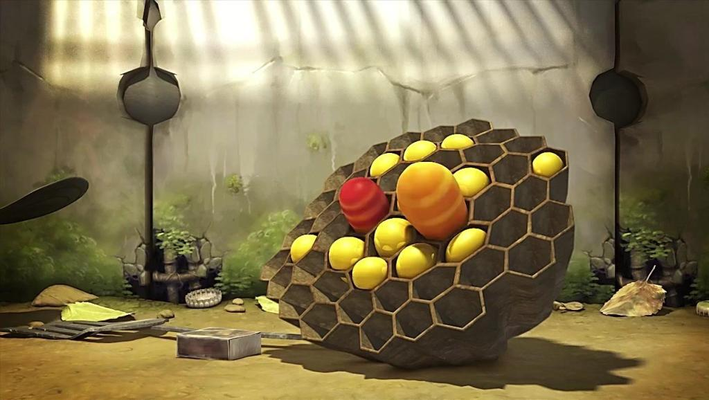 爆笑虫子: 小红和小黄真坏,把蜜蜂辛苦采的蜂蜜耍诡计吃光了还想欺负蜜蜂
