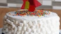 外头买的蛋糕回家后自己加工你们看看这个效果如何?