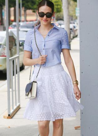 半身裙很百搭图片_半身裙很百搭, 但你真的会穿吗? 时尚博主为你巧出妙招