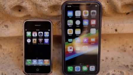 iPhone对比iPhone X: 十年时间手机摄像头的变革