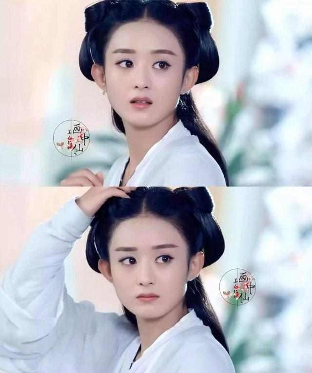 淡妆,浓抹总相宜的女星, 迪丽热巴,郑爽,赵丽颖上榜