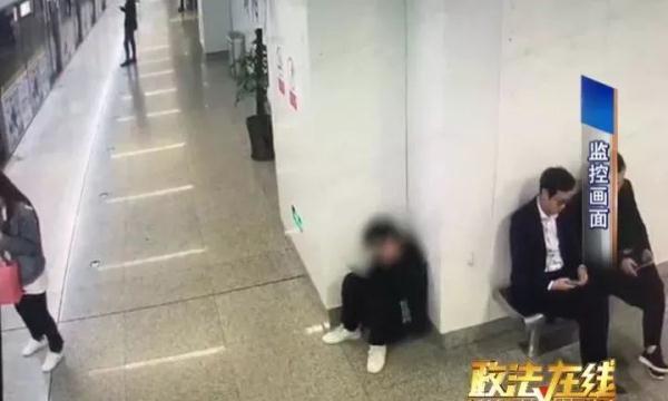 洋相百出,在朝阳广场地铁站,南宁市公安局地铁分局民警