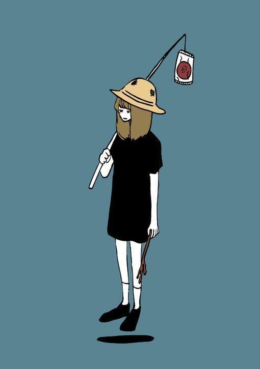 心痛没人懂图片卡通