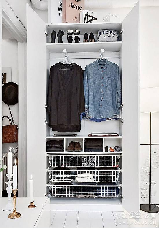 木工推荐超实用衣柜设计, 可惜了我家的衣柜!