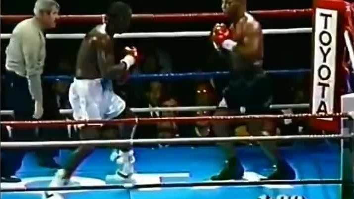 泰森最耻辱一战,被悍将重拳击倒坐地不起 观众为之扼腕叹息!