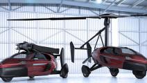 首辆飞行汽车3月初发布,天上地下随便开,再也不用担心交通拥堵