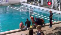 欧洲女子水球比赛精彩集锦!岸上的她们才是我买票的主因