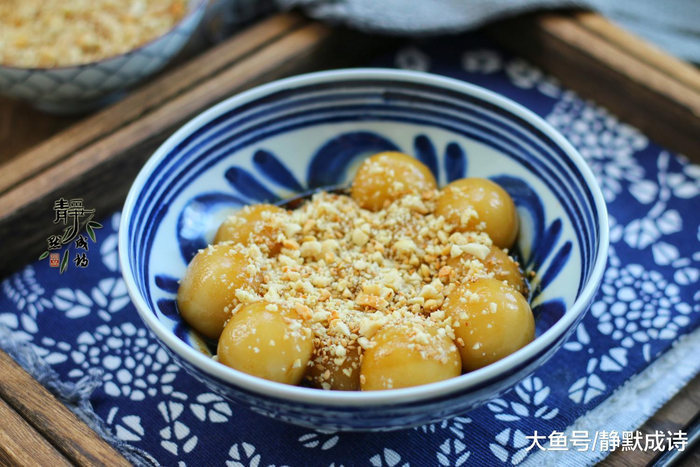 为什么分享糯米粉的做法呢,不是汤圆,也不要担心,姜1小块儿