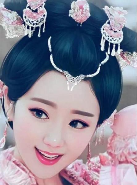 最受欢迎女星古装手绘画排名, 郑爽垫底, 赵丽颖才排第九, 她最美