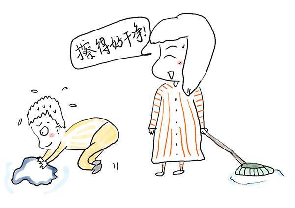 打扫屋子简笔画