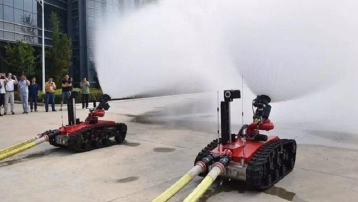 中国消防机器人征服欧美,灭火性能超强,获欧美多国采购