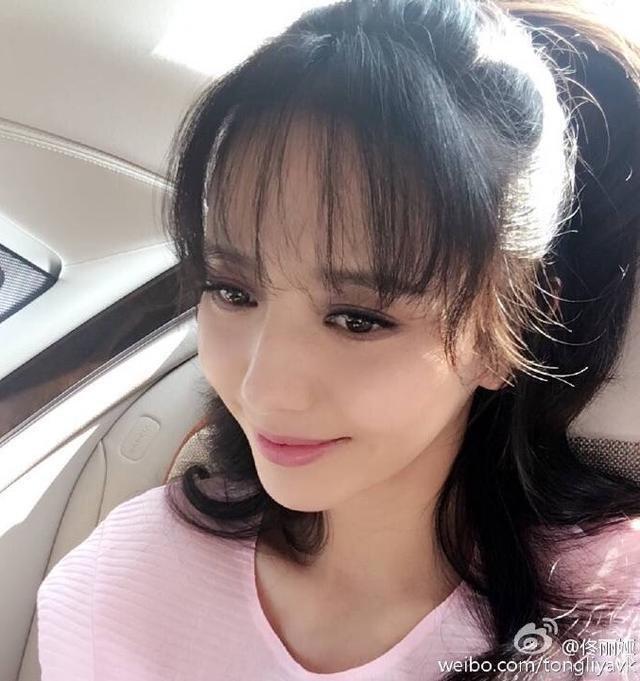 以李小璐为榜样的空气刘海太妖孽图片