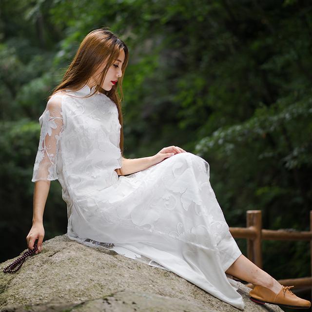 """姑娘不要穿韩版了, """"改良汉服""""才是17年的流行趋势, 优雅大方 10"""