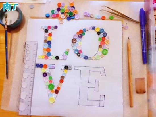 单的创意DIY纽扣粘贴画的详细制作教程的最新信息,漂亮,简