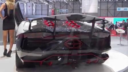 2014年日内瓦车展上尼姆罗德的表演