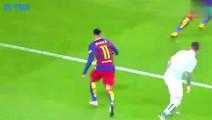 建议国际足联禁止内马尔踢球的时候玩花活,太牛了,根本摸不到球