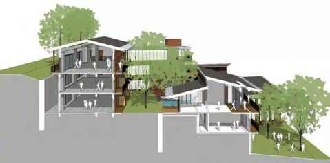 华东建筑设计研究总院新作: 广西百色干部学院