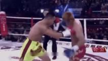 当碰到很耐打的日本选手,中国军人只用几招就很干脆的KO了对手!