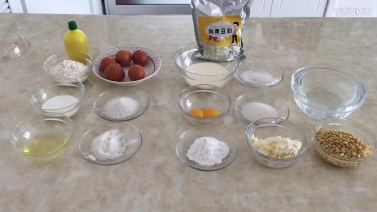 初学者烘焙视频教程 豆乳盒子蛋糕的制作方法nh0 烘焙视频教程