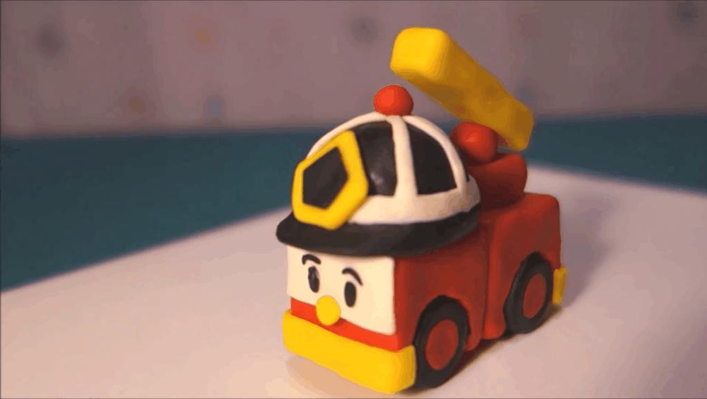 打开 变形警车珀利手工diy彩泥制作教程彩泥玩具教宝宝玩转彩泥 广告
