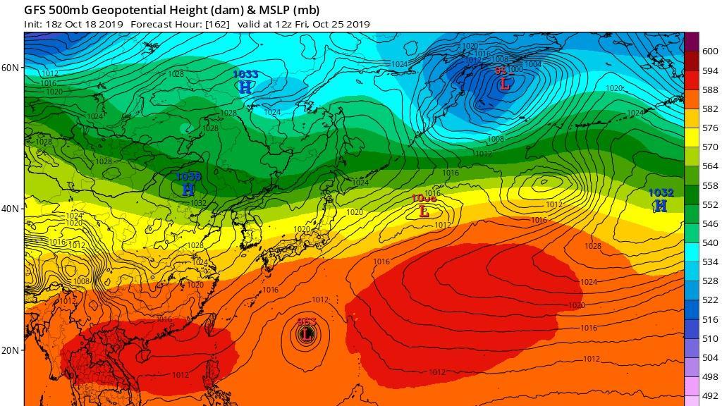 浣熊正转弯到日本 博罗依或24小时内生成 可能又是北上 太快了