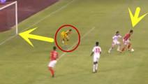 郜林能吹一辈子的三粒进球,门将都被他打哭了