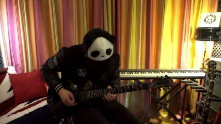 超然!【电吉他】 黑猫警长 摇滚吉他版【PANDA-MAN 熊猫侠】