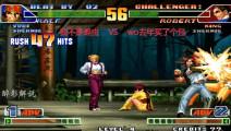 拳皇98c: 拉尔夫这套57连够霸气,这是大师级别的技术