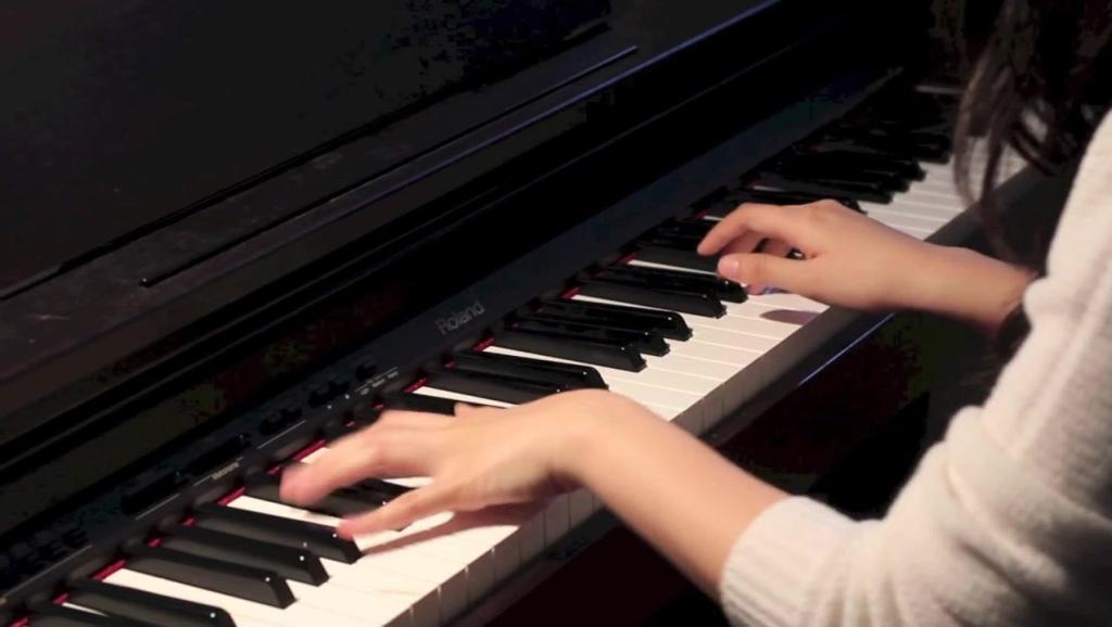 钢琴演奏 北风吹