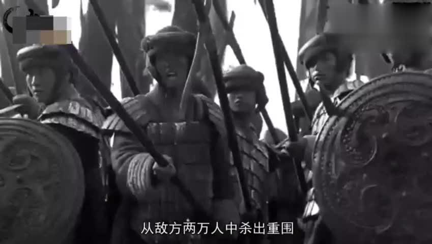 此人武力值超过项羽,赵云,一人一马堪比李元霸