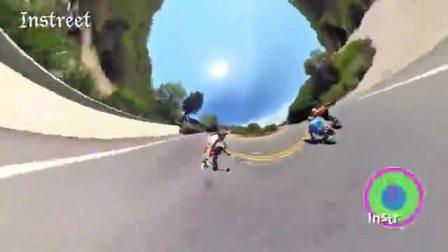 GoPro 360°全景速降小短片,不错过瞬息精彩!