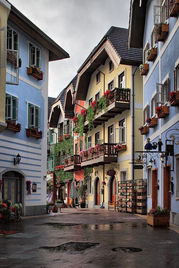 放假啦~佛山周边的古镇,海边,欧洲小镇,小鼓浪屿美如画, 假期怎能无聊
