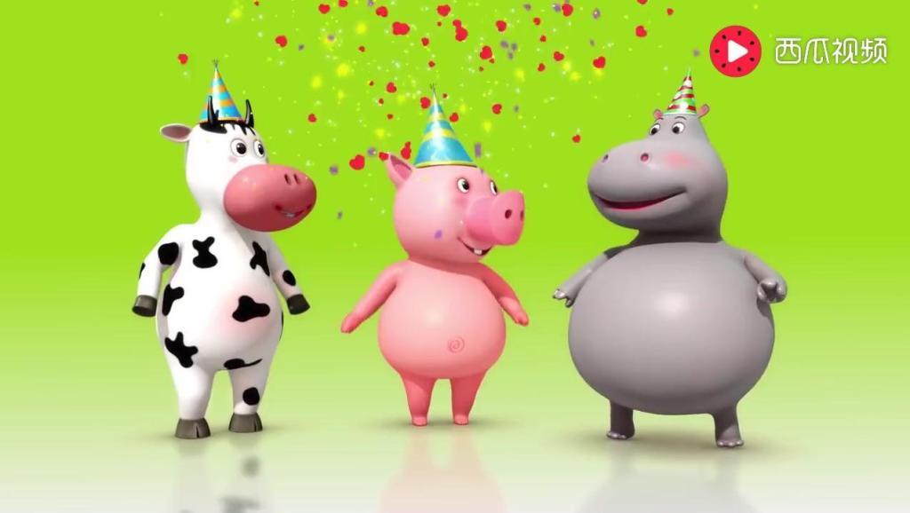 Happy Birthday Song - Nursery Rhymes - By LittleBabyBum!