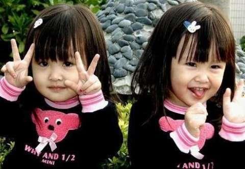 可爱呆萌的照片让她们成为风靡大江南北的网络小明星