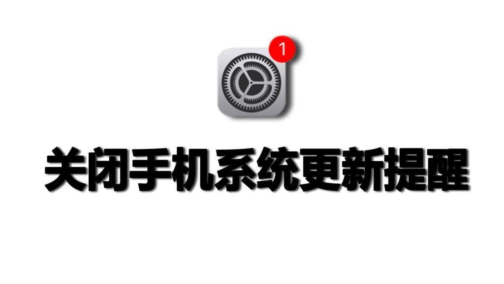 关闭ios11系统版本更新,输入一个网址解决,设置图标不再提示