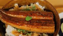 这才是深夜食堂美食,日式鳗鱼饭,一碗饭三种吃法