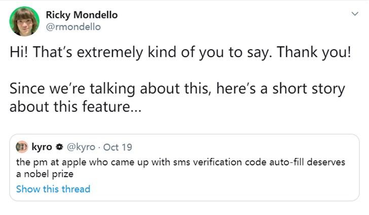 """苹果工程师谈iOS密码自动填充功能: 研发过程""""无心插柳柳成荫"""""""