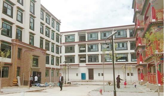 拉萨市加措棚户区一期改造完工8月底可入住