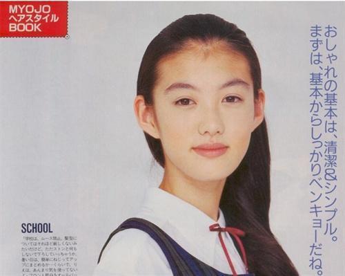 友坂理惠年轻的时候也是小仙女级别的人物啊,拍张画报拿到今天也是不图片
