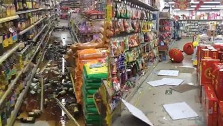 云南景洪发生4.9级地震 震感强烈