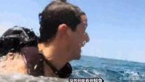 贝爷在海中遭遇大鲸鱼,激动都破音了