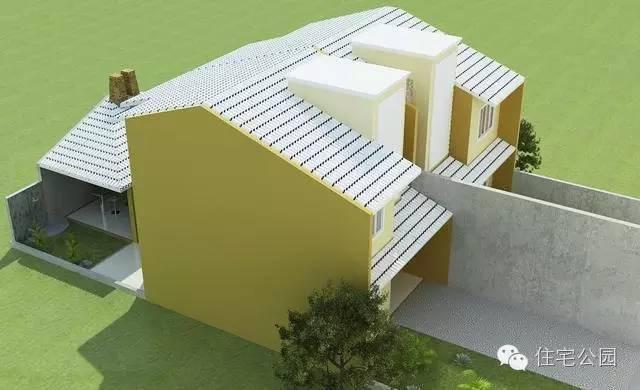 农村别墅兄弟房户型 12米小面宽 含平面图