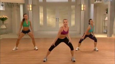 男女都适合的有氧健身操,加快脂肪消耗