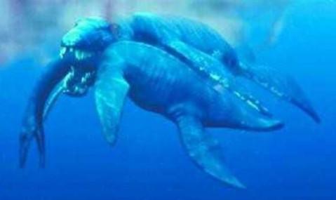 上龙-恐龙类海洋霸主: 食物链最顶端的存在